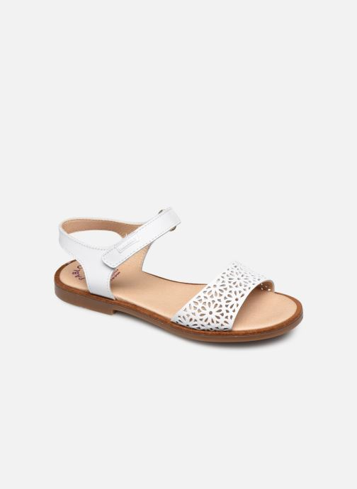 Sandals Pablosky Sandales White detailed view/ Pair view