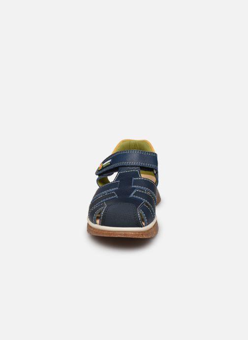 Sandalen Pablosky Sandales blau schuhe getragen