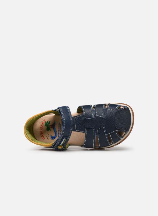 Sandalen Pablosky Sandales blau ansicht von links