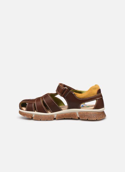 Sandalen Pablosky Sandales braun ansicht von vorne
