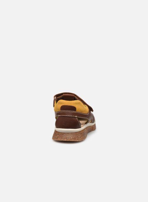 Sandalen Pablosky Sandales braun ansicht von rechts