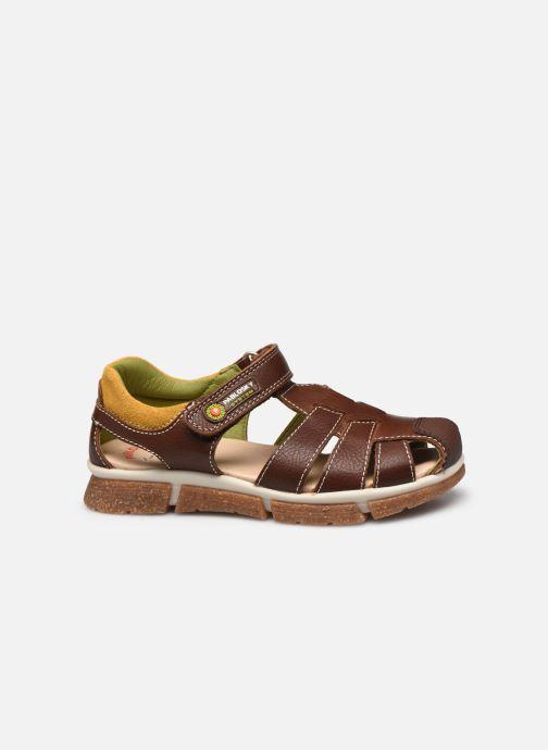 Sandalen Pablosky Sandales braun ansicht von hinten
