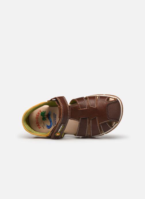 Sandalen Pablosky Sandales braun ansicht von links