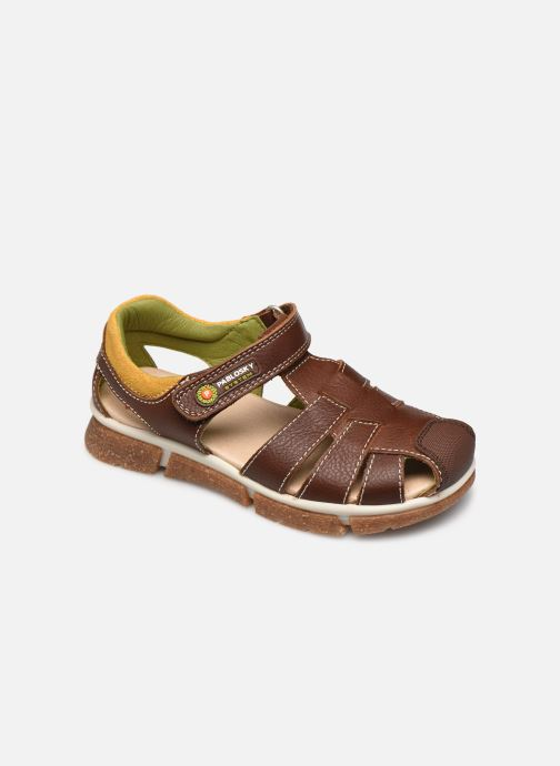 Sandales et nu-pieds Pablosky Sandales Marron vue détail/paire