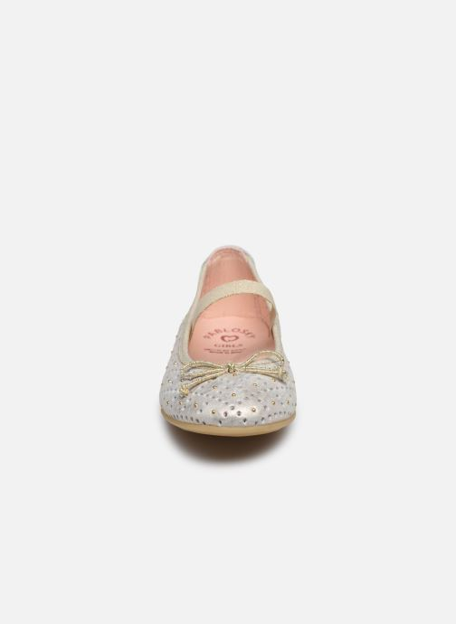Ballet pumps Pablosky Ballerines Bronze and Gold model view