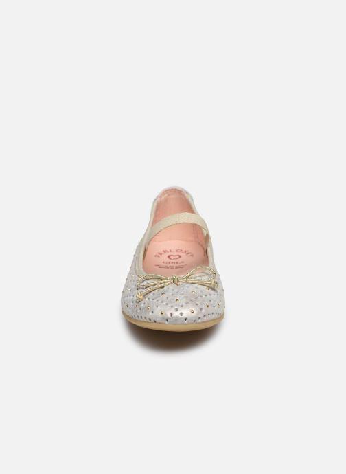 Ballerines Pablosky Ballerines Or et bronze vue portées chaussures