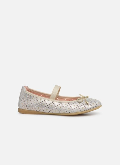 Ballet pumps Pablosky Ballerines Bronze and Gold back view