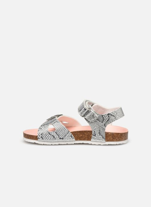 Sandales et nu-pieds Pablosky Sandales Footbed Argent vue face