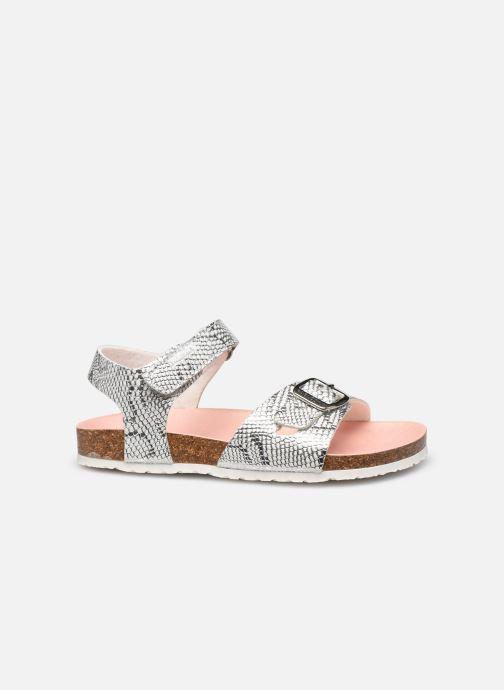 Sandales et nu-pieds Pablosky Sandales Footbed Argent vue derrière
