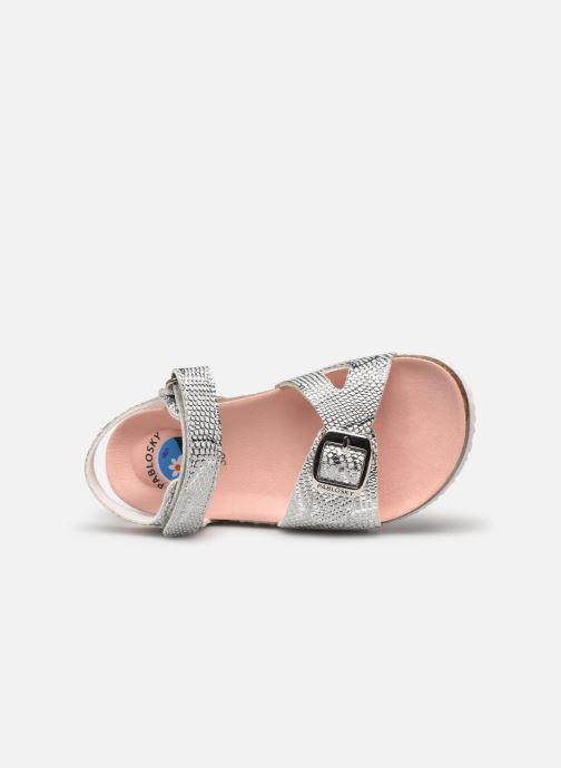 Sandales et nu-pieds Pablosky Sandales Footbed Argent vue gauche
