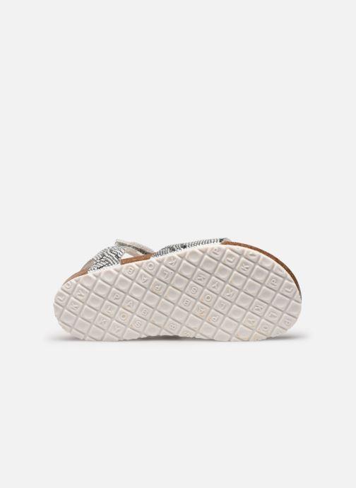 Sandalen Pablosky Sandales Footbed silber ansicht von oben