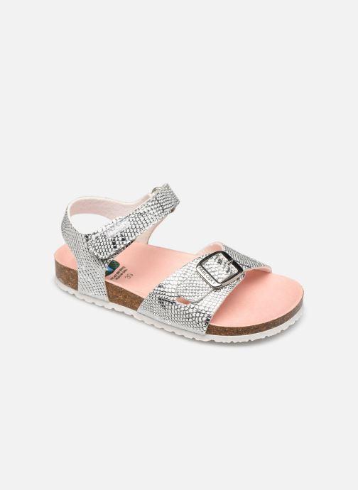 Sandales et nu-pieds Pablosky Sandales Footbed Argent vue détail/paire