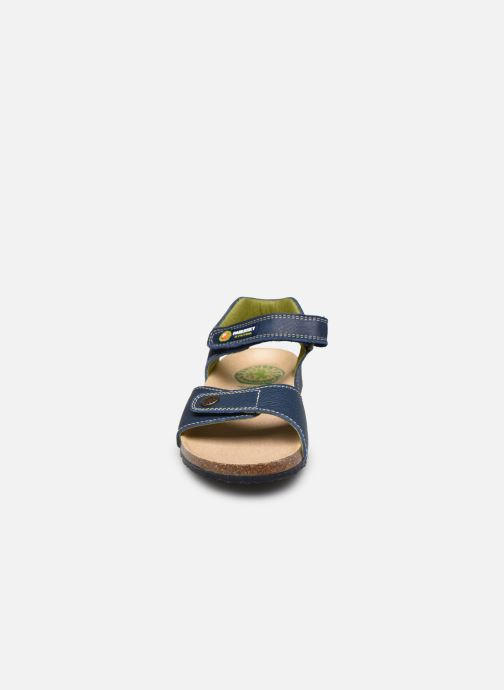 Sandali e scarpe aperte Pablosky Sandales Footbed Azzurro modello indossato