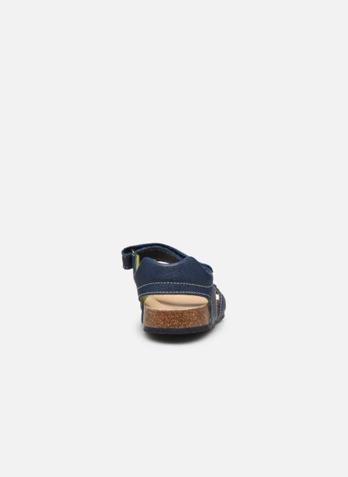 Sandals Pablosky Sandales Footbed Blue view from the right