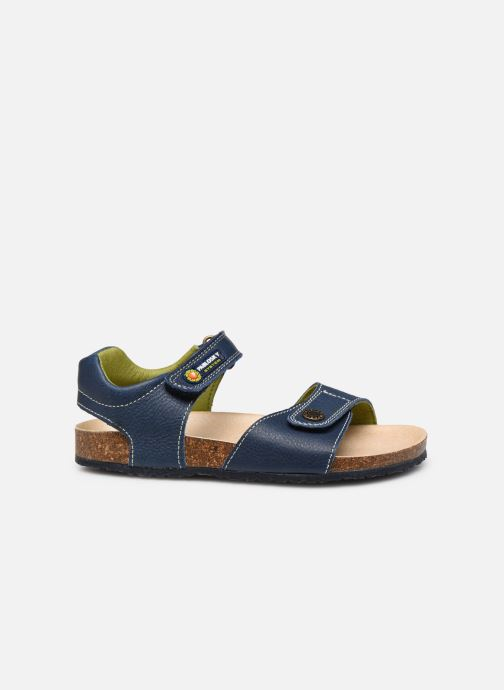 Sandals Pablosky Sandales Footbed Blue back view