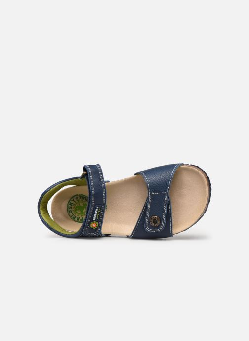 Sandals Pablosky Sandales Footbed Blue view from the left
