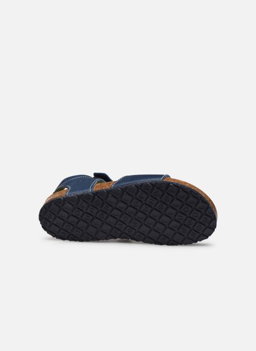 Sandals Pablosky Sandales Footbed Blue view from above