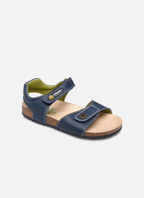 Sandales et nu-pieds Pablosky Sandales Footbed Bleu vue détail/paire