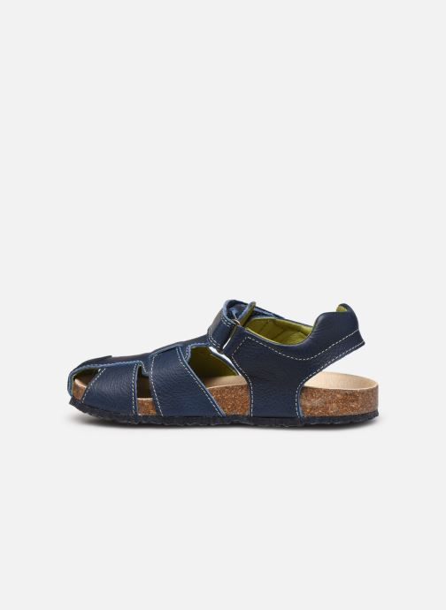 Sandals Pablosky Sandales Footbed Blue front view
