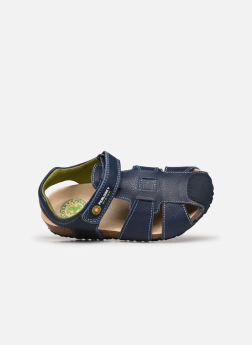 Sandalen Pablosky Sandales Footbed blau ansicht von links
