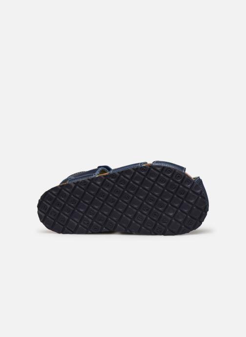 Sandalen Pablosky Sandales Footbed blau ansicht von oben