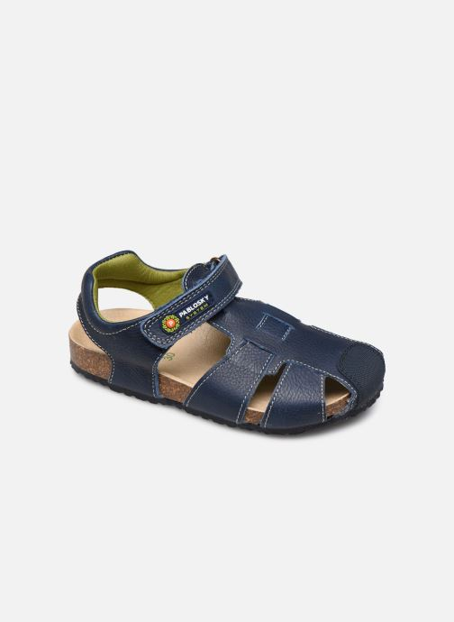 Sandals Pablosky Sandales Footbed Blue detailed view/ Pair view