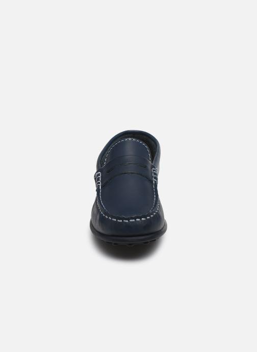 Mocassins Pablosky Chaussures Bateaux Bleu vue portées chaussures