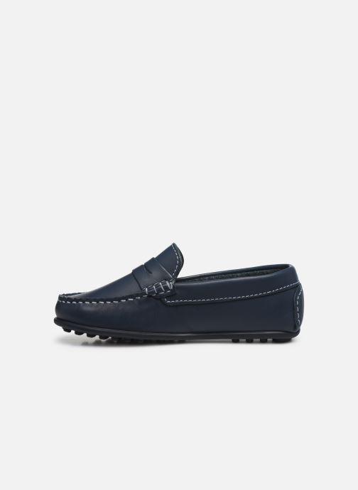 Mocassins Pablosky Chaussures Bateaux Bleu vue face