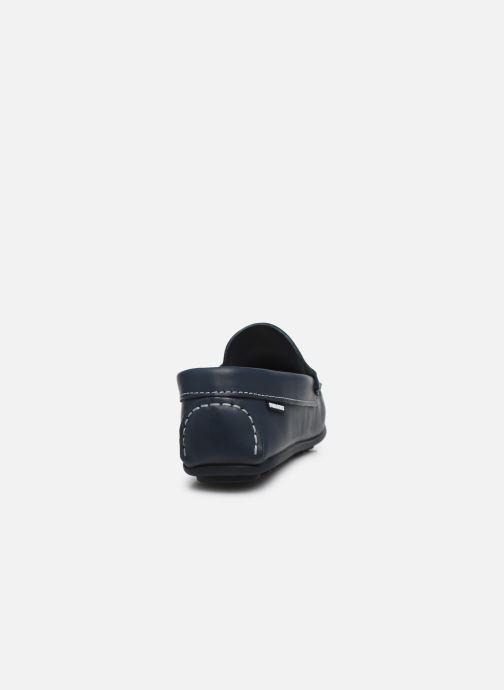 Mocassins Pablosky Chaussures Bateaux Bleu vue droite