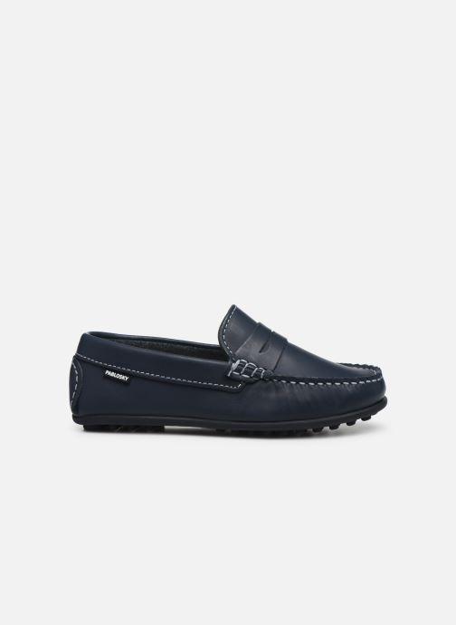 Mocassins Pablosky Chaussures Bateaux Bleu vue derrière