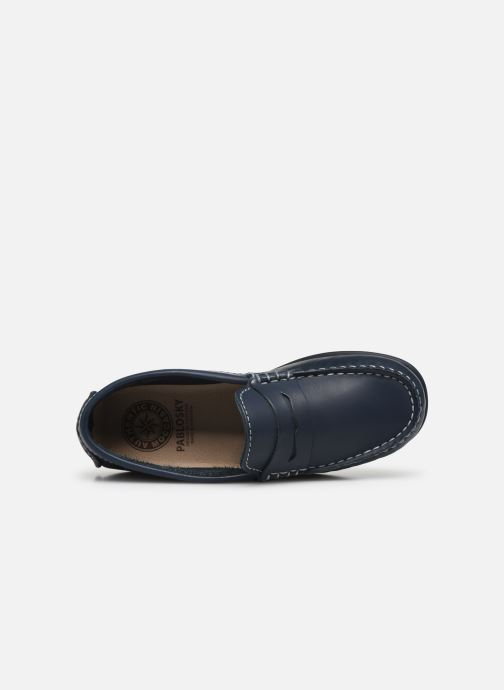 Loafers Pablosky Chaussures Bateaux Blue view from the left