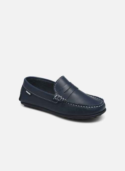 Loafers Pablosky Chaussures Bateaux Blue detailed view/ Pair view