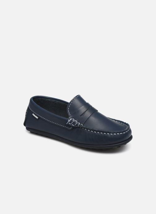 Mocassins Pablosky Chaussures Bateaux Bleu vue détail/paire