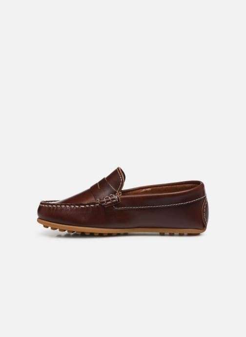 Loafers Pablosky Mocassins Brown front view