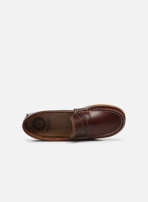 Loafers Pablosky Mocassins Brown view from the left