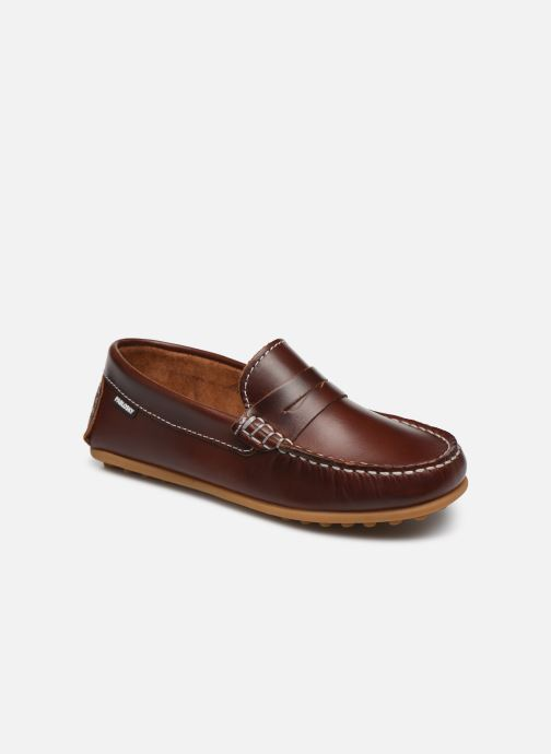 Loafers Pablosky Mocassins Brown detailed view/ Pair view