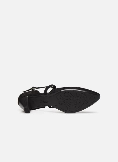 Zapatos de tacón Gabor ALVA Negro vista de arriba