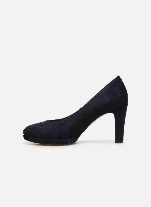 Zapatos de tacón Gabor FRIDA Azul vista de frente
