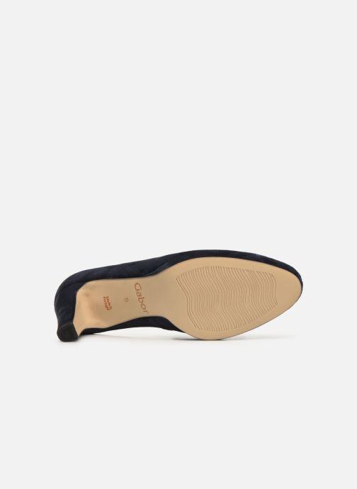 Zapatos de tacón Gabor FRIDA Azul vista de arriba