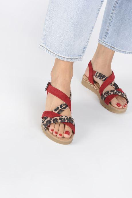 Sandali e scarpe aperte Gabor DARYA Rosso immagine dal basso