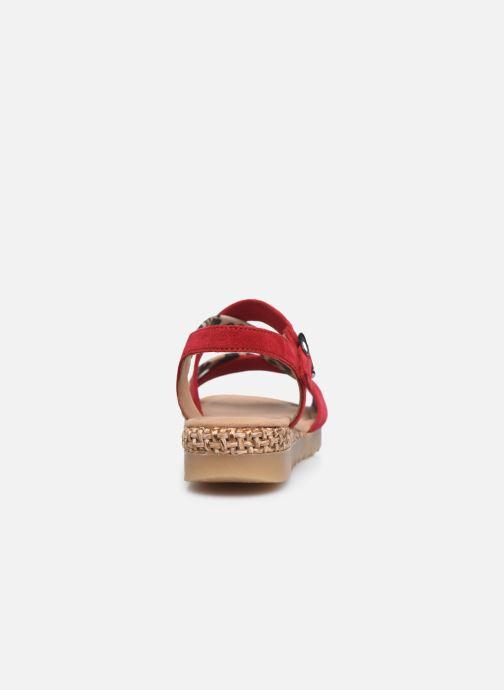 Sandali e scarpe aperte Gabor DARYA Rosso immagine destra