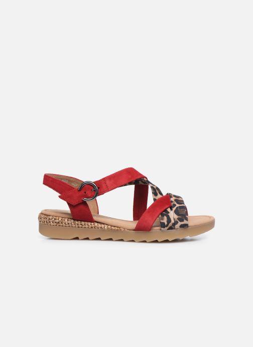 Sandali e scarpe aperte Gabor DARYA Rosso immagine posteriore