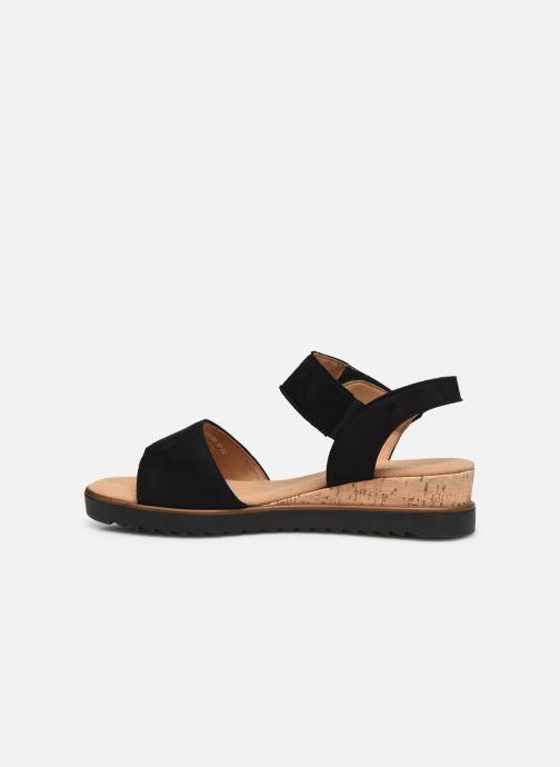 Sandales et nu-pieds Gabor NOUR Noir vue face