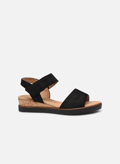 Sandales et nu-pieds Gabor NOUR Noir vue derrière