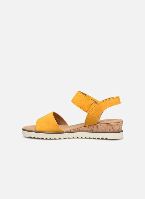 Sandales et nu-pieds Gabor NOUR Jaune vue face