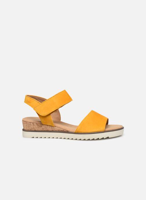 Sandales et nu-pieds Gabor NOUR Jaune vue derrière