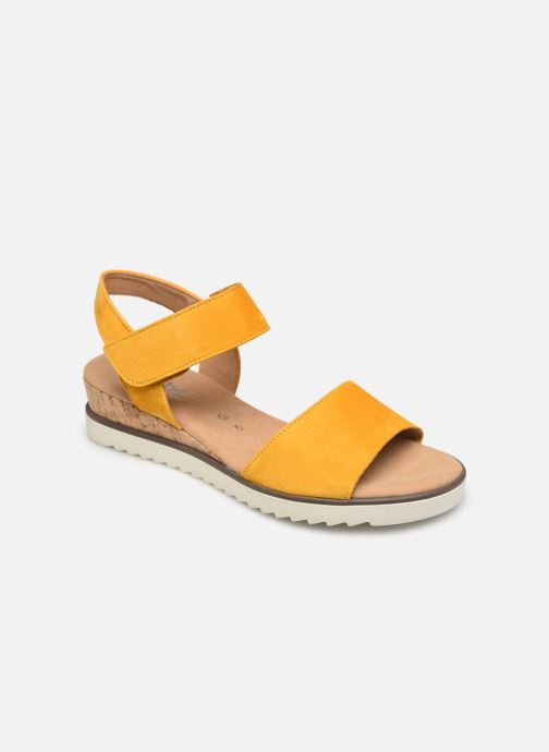 Sandales et nu-pieds Gabor NOUR Jaune vue détail/paire