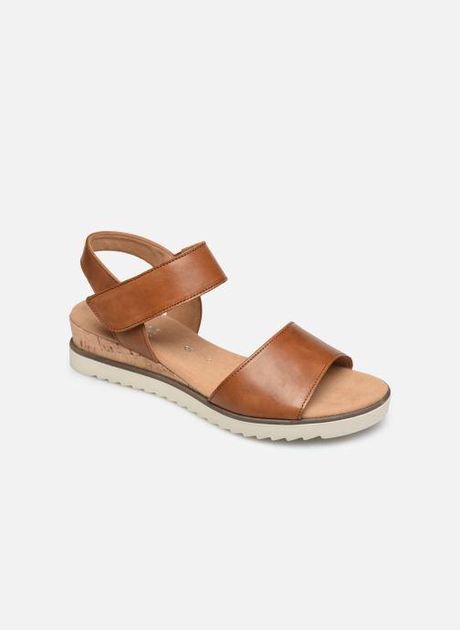 Sandales et nu-pieds Gabor NOUR Marron vue détail/paire