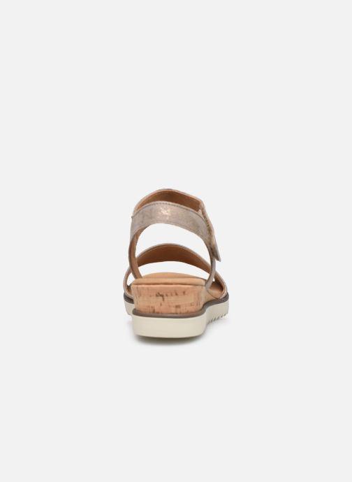 Sandales et nu-pieds Gabor NOUR Gris vue droite