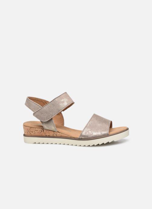 Sandales et nu-pieds Gabor NOUR Gris vue derrière